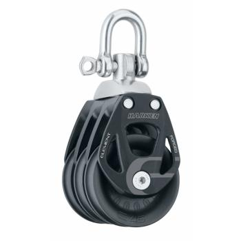 Harken 45 mm Element triplaploki leikarilla