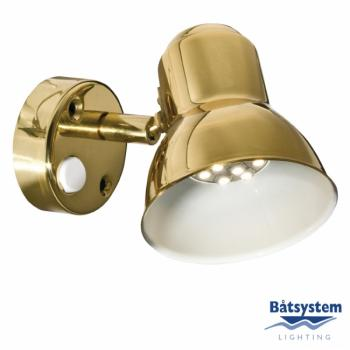 Båtsystem CLASSIC kohdevalo LED, messinki