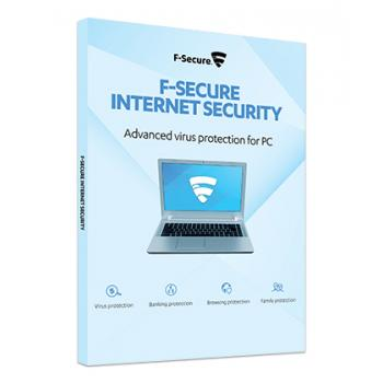 F-Secure Internet security 3 PC:lle 2 vuodeksi
