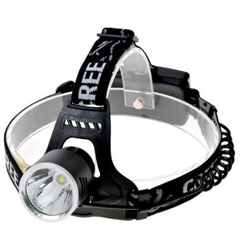 Cree XM-L T6 650lm 3-Mode Cool White Light Headlamp, KX-G30 (Black)