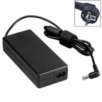 EU Plug AC Adapter 19.5V 4.7A 92W for Sony Laptop, Output Tips: 6.0x4.4mm